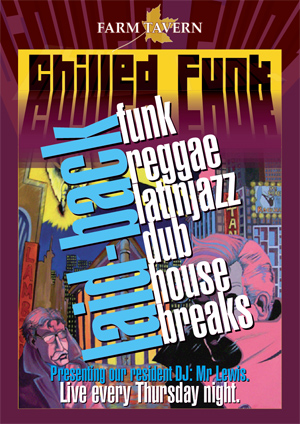 Chilled Funk Poster