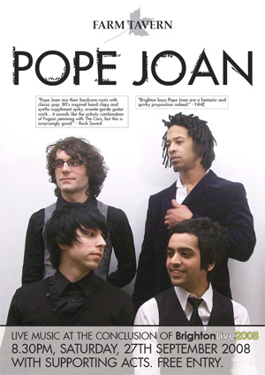 Pope Joan Album Launch Party